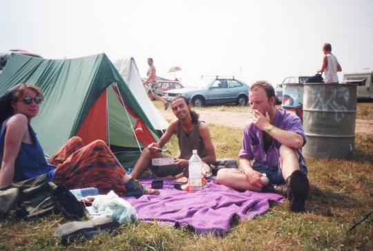 Glastonbury 1992