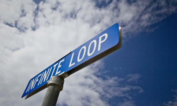 Infinite Loop by Dave Walker, CC BY-NC-SA 2.0