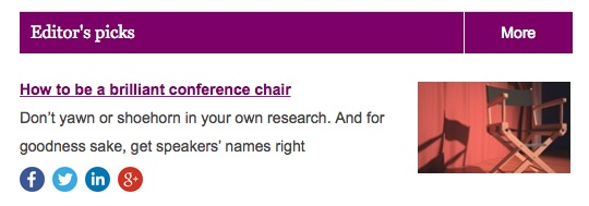 conference chair editors pick